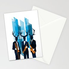Horn Section Stationery Cards