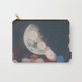 Moon Abstract Lights with Bokeh Graphic Design Photography Carry-All Pouch