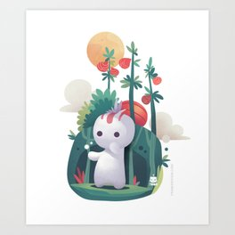Raddish Spirit Art Print
