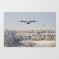 hercules Canvas Prints featuring Hercules by Airpower Art