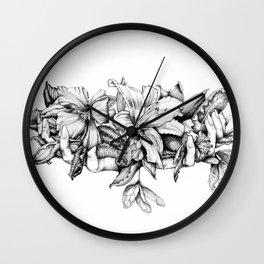 Delicate Hands Wall Clock