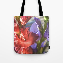 Glad Flowers Tote Bag