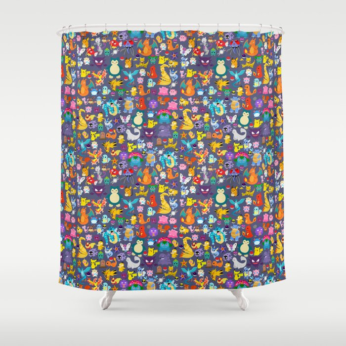 Pocket Collection 3 Shower Curtain
