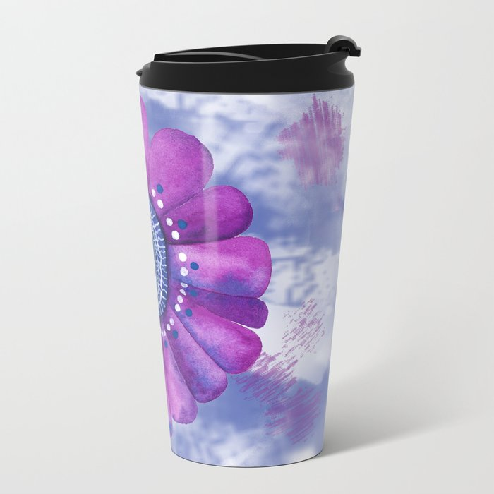 Serene Metal Travel Mug