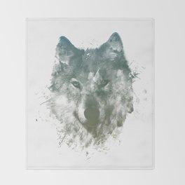 Wolf Like Me Throw Blanket