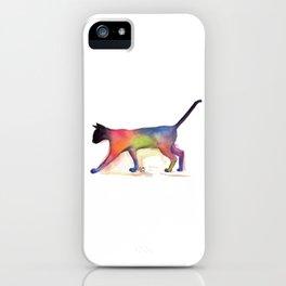 Cat Kitten Print ' PUSS PUSS ' by Shirley MacArthur iPhone Case
