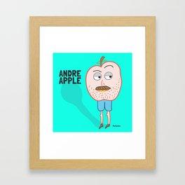 Andre Apple Framed Art Print