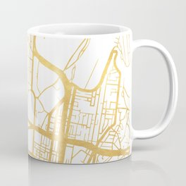 SYDNEY AUSTRALIA CITY STREET MAP ART Coffee Mug