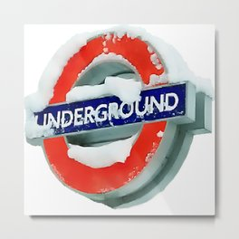 London: St James Park Underground Metal Print