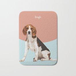 Dog Breeds_Beagle. Bath Mat
