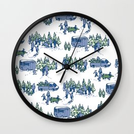 Let's Buy a Tree – Xmas Edition Wall Clock