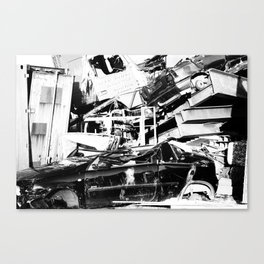 Urban decay 2 Canvas Print
