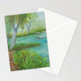 Little Manistee River MM120824a Stationery Cards