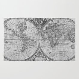 World map rugs society6 black and white world map 1691 rug gumiabroncs Images