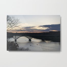 Boat House Row, Schuylkill River, PA Metal Print