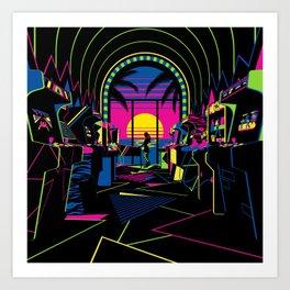 Arcade Saloon Art Print