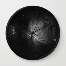 Orion Nebula 4 Wall Clock