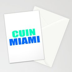 CUIN MIAMI Stationery Cards
