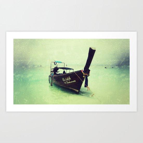 Thailand Sprit Art Print