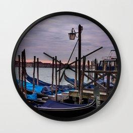 Venetian Gondole Wall Clock