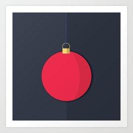Christmas Globe - Illustration Art Print