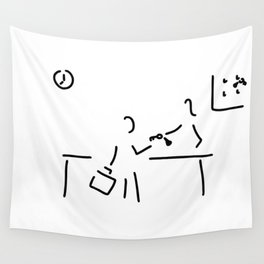 hotel keeper hotel adoption Wall Tapestry