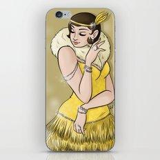 Diamonds and Pearls iPhone & iPod Skin