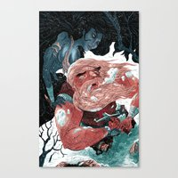 viking Canvas Prints featuring Viking by Logan  Faerber