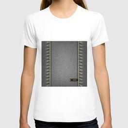 Denim background T-shirt