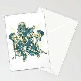 Apocalypse Rock Star Stationery Cards