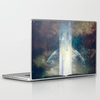 the fault Laptop & iPad Skins featuring It´s your fault by HappyMelvin