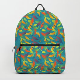 Paradise Tango in Teal Backpack