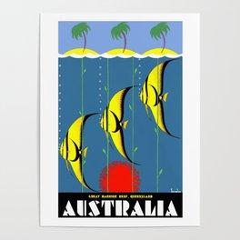 Australia Great Barrier Reef Queensland Poster
