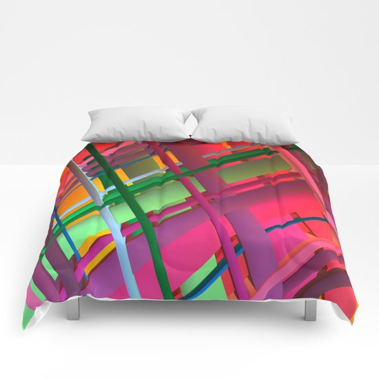 Striping Confusion Comforters