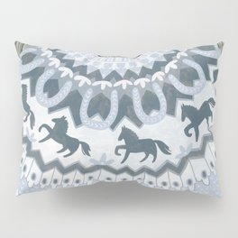 Sweater with Horses Pillow Sham