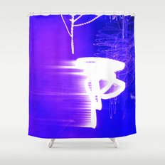 WAITING FOR THE STARS Shower Curtain