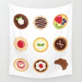 Petits Fours Wall Tapestry