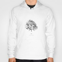 roses Hoodies featuring Roses  by Caitlin Workman
