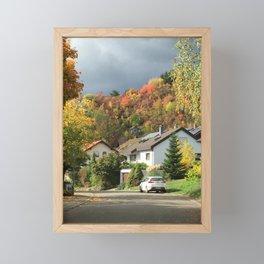 Fall Colors Framed Mini Art Print