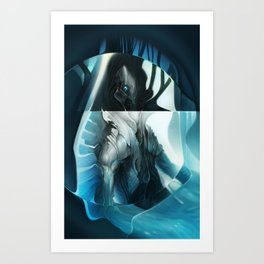 Ether Navigator Art Print