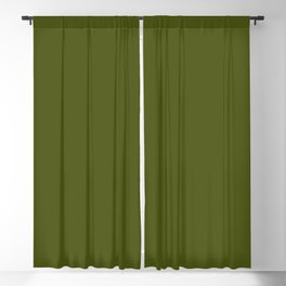 Army Green Blackout Curtain