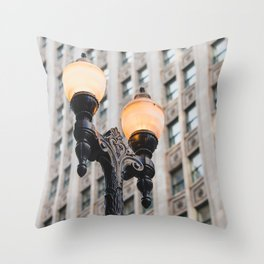 Chicago Loop Throw Pillow