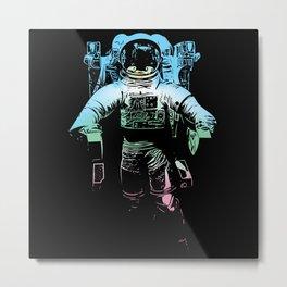 A Space Cowboy Metal Print