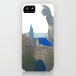 Blue Mainz Cathedral iPhone Case