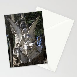 Angel Grave II Stationery Cards