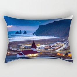 Vik Iceland Rectangular Pillow