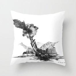 Howitzer Throw Pillow