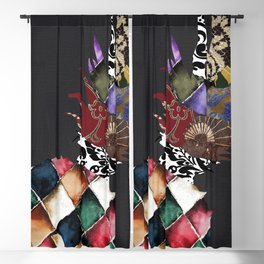 Pineapple Brocade II Blackout Curtain