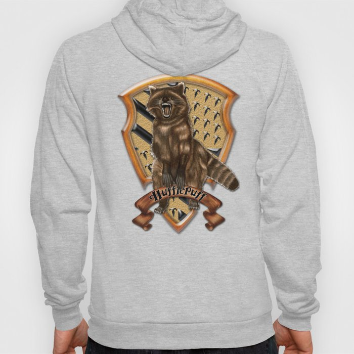 Fox with brave shield Hoody