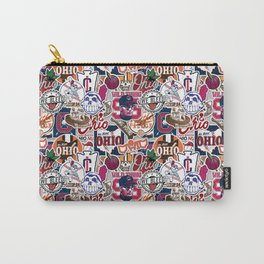 Cleveland Sticker Wall Carry-All Pouch